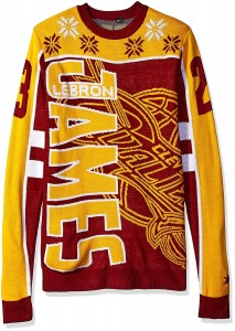 Sweter NBA Lebron James dzianina