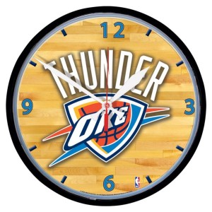 Zegar NBA Oklahoma City Thunder ø 32 cm