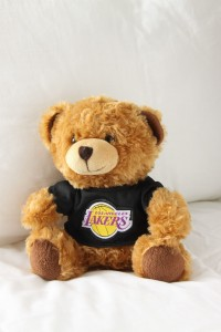 Pluszowy miś NBA Los Angeles Lakers